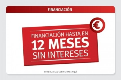 UJIBIKE FINANCIACION HASTA EN 12 MESES SIN INTERESES
